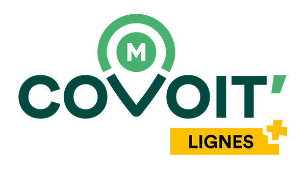 Logo M'Covoit - Lignes+