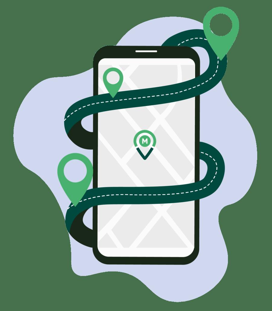 M'Covoit - Lignes+ : l'appli est gratuite pour les conducteurs et les passagers.