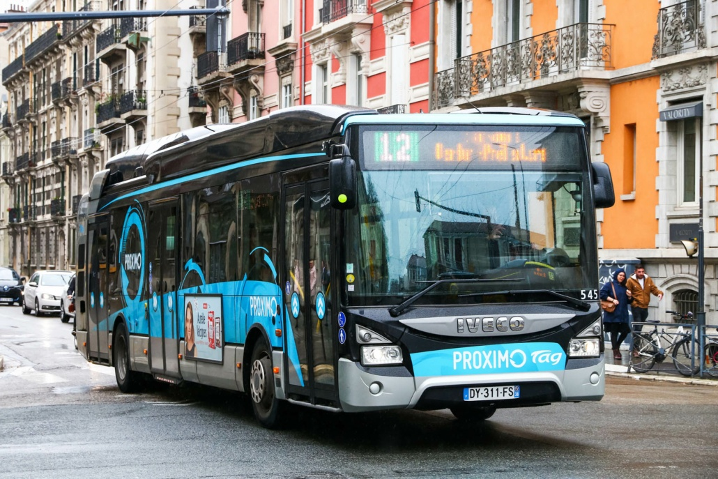 un bus à Grenoble
