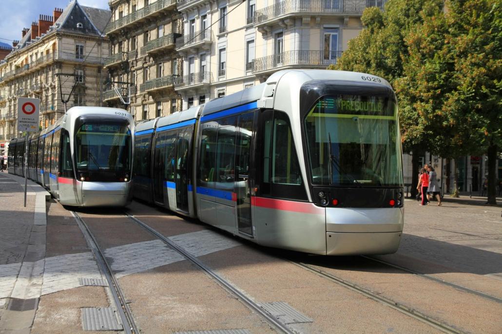 le tramway à Grenoble